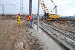 Откачка бетонита